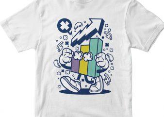 Chart t shirt vector file