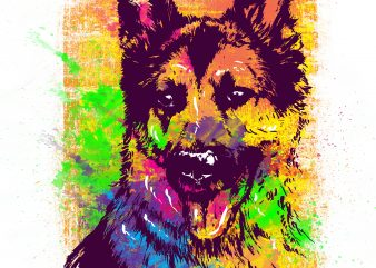 DOGGY t shirt vector illustration