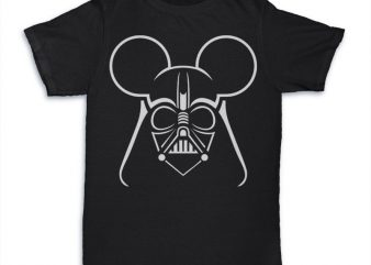 Dark Mouse Tshirt graphic t-shirt design