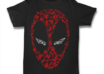 Deadpool Icon commercial use t-shirt design