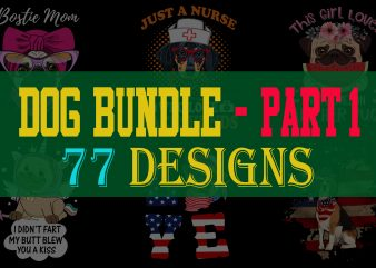 Dog Bundle Part 1