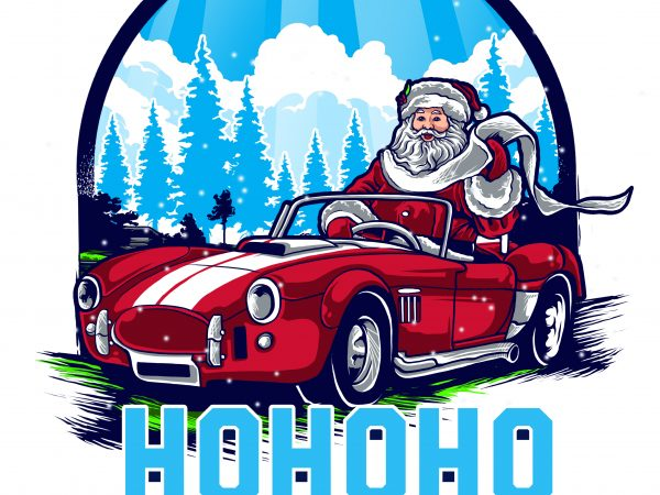 HELLO SANTA graphic t shirt
