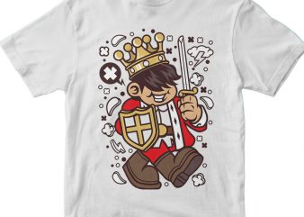 King Kid t shirt vector art