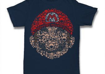 Mario Tshirt t-shirt design for sale