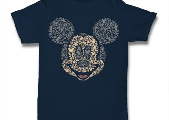 Mickey Tshirt print ready t shirt design