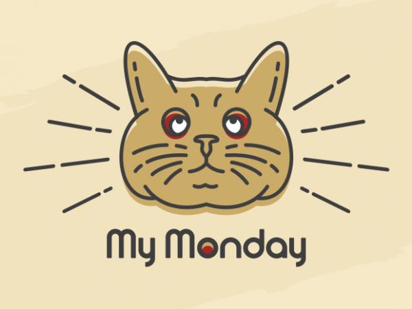 My Monday vector t-shirt design