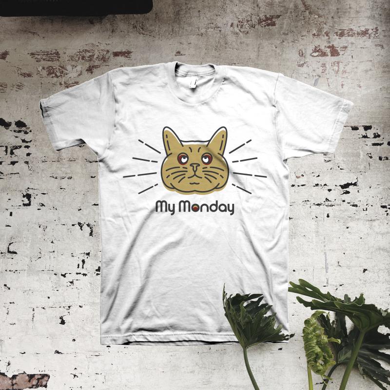 My Monday t shirt design graphic