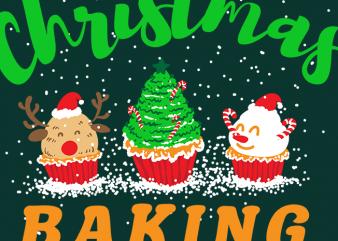 Official Christmas Baking Crew t shirt design online