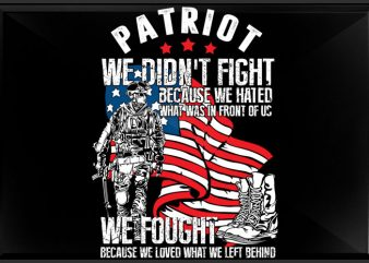 Patriot t shirt design for purchase