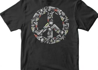 Peace t shirt design to buy