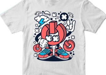 Power vector t-shirt design for commercial use