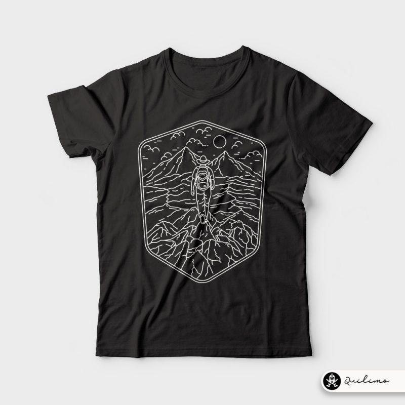 Traveler tshirt design for sale