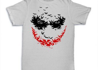 Psycobats graphic t-shirt design