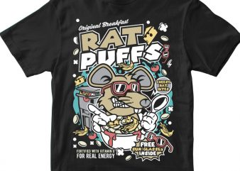 Rat Puffs t shirt design online