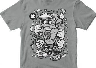 Robot Tools vector t shirt design artwork