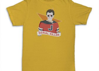 Serial Killer ready made tshirt design