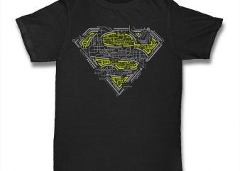 Super Electric commercial use t-shirt design