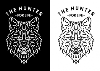 The Hunter t shirt designs for sale