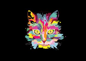 Cat Love Vector t-shirt design