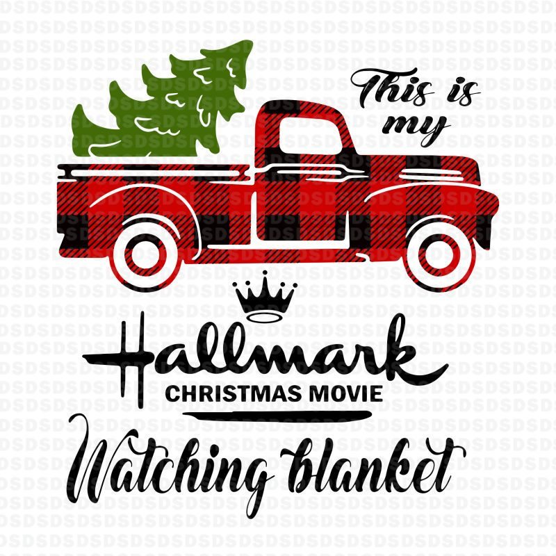 This is my Hallmark Christmas movie watching blanket t shirt design graphic