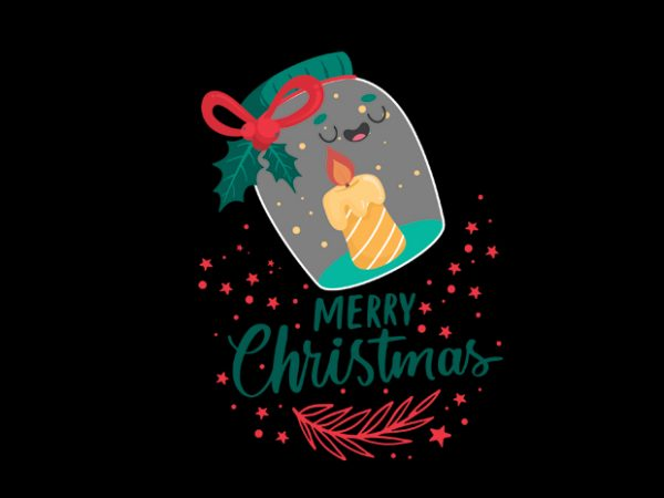 Christmas9 t shirt vector file