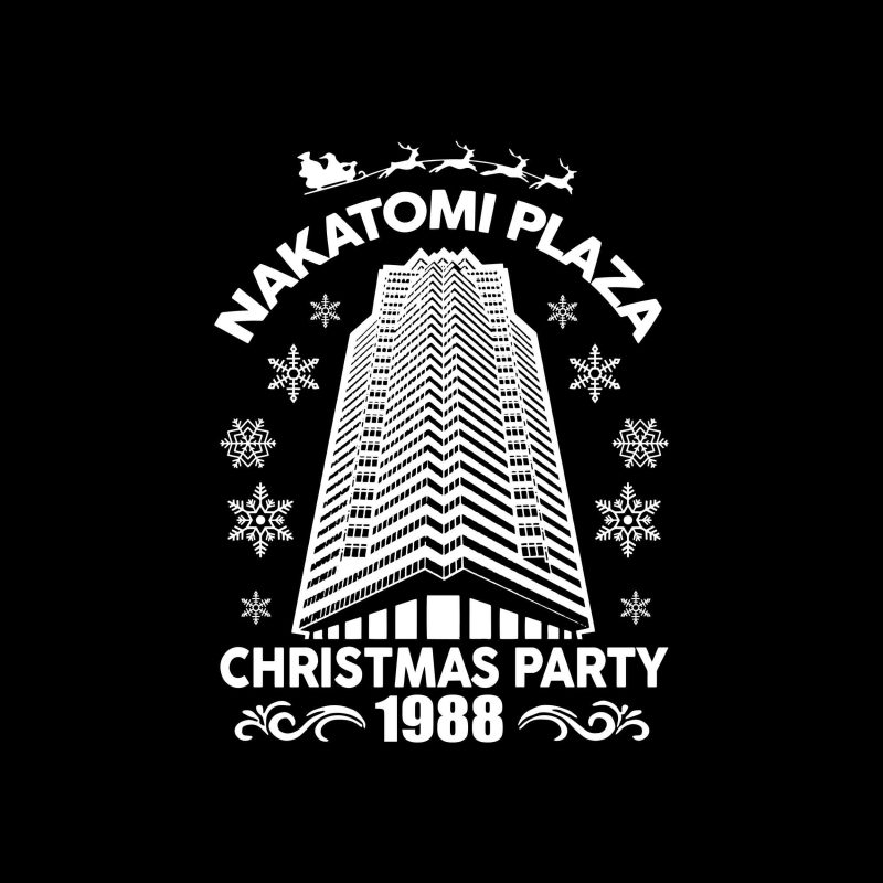 Nakatomi Plaza svg, Christmas Party 1988 svg, merry christmas 1988 svg buy t shirt designs artwork