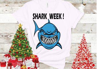 Shark week design tshirt