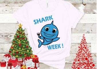 Shark week design tshirt