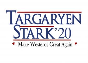 Targaryen stark 20 make westeros great again t shirt designs for sale