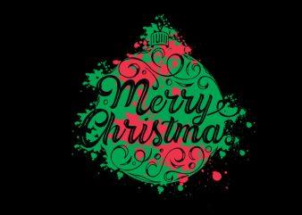 Christmas t shirt vector file