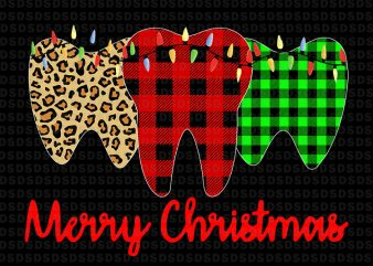 Merry Christmas Dental Assistant Tooth Xmas t shirt designs for sale