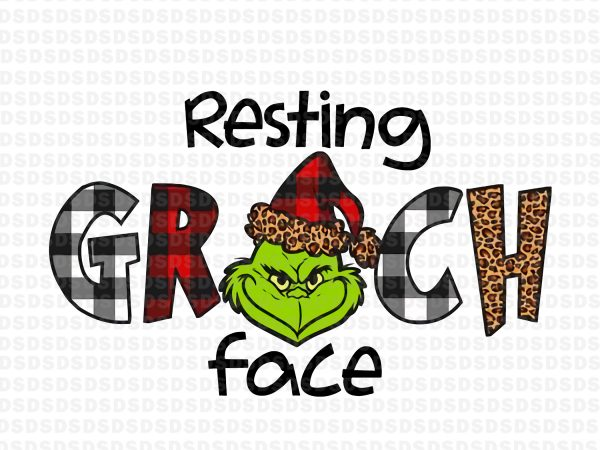 Resting grinch face,Resting grinch face png,Resting grinch face christmas buy t shirt design for commercial use