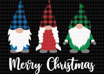 Three gnomies christmas png,Gnomies merry christmas buffalo t shirt designs for sale