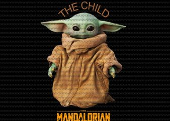 The Mandalorian The Child , Baby Yoda Png, star wars png, The Child png t shirt designs for sale