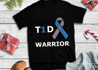 T1d warrior svg,T1d warrior design tshirt