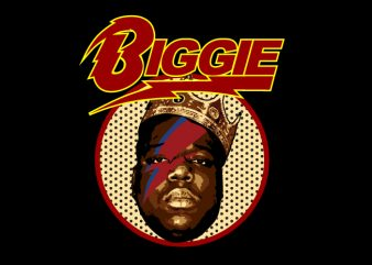 Biggie Stardust t shirt template