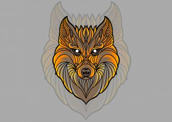 fox t-shirt design