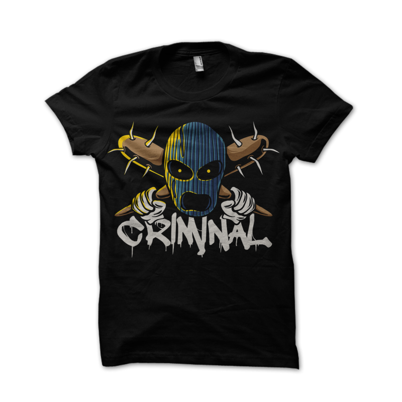 Criminal buy tshirt design
