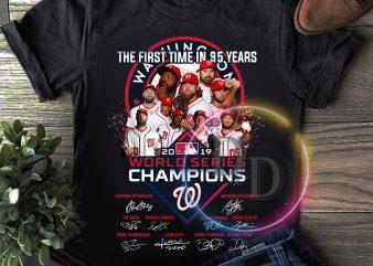 Washington Nationals Worldseries Champions 2019 T shirt