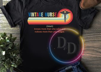 Vintage Nurse T shirt