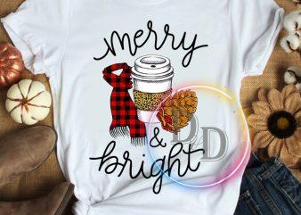 Merry Bright Christmas T shirt