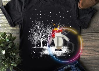 Penguin Winter White Merry Christmas T shirt