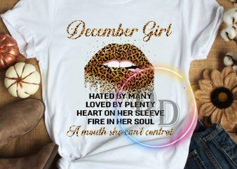 December GIrl – Birthday gifts T shirt