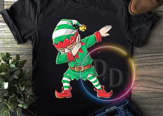 ELF dabbing merry christmas T shirt
