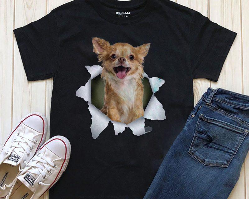 Dog In T-shirt- 20 Popular Dog Breeds tshirt factory