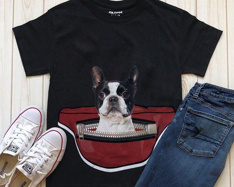 Dog in Waist Pack – 20 Popular Dog Breeds tshirt factory