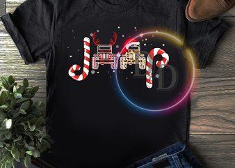 Jeep Leopard Caro Fabric Merry Christmas T shirt