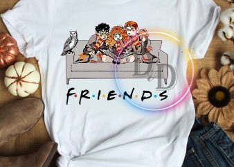 Harry Potters Hermione Ron Friends T shirt