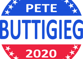 Pete buttigieg 2020 t shirt illustration