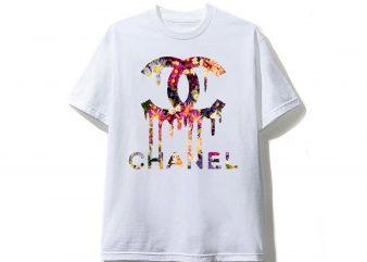 Chanel Flower T shirt Design